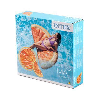 """Матрас """"Апельсин"""" оранжевый,178*85 см,от 12-ти лет"""