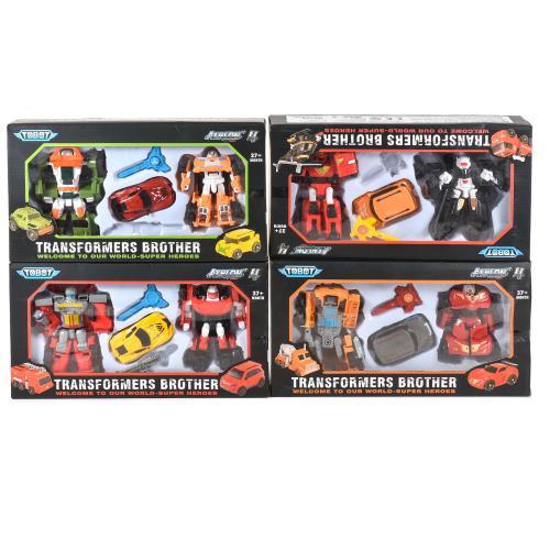Робот- трансформер в коробке, 529-60