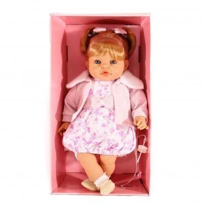 Кукла 2 вида, звук (смех), 45см, в кор.