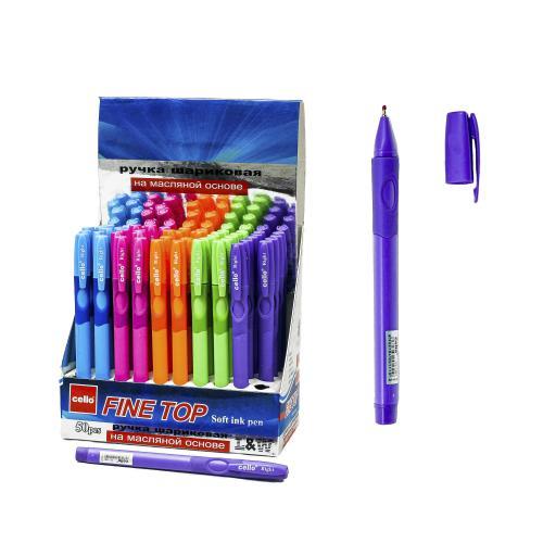 Ручка CELLO, масляная, синяя, для левшей, 50 шт., (цена за штуку), SAT-1361