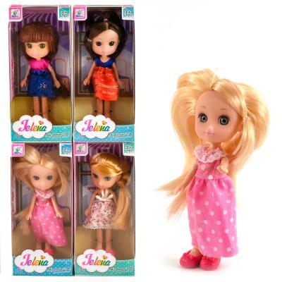 Кукла 81001 (96 шт) 15 см,4 вида,в коробке, 81001