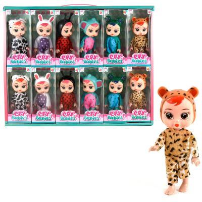 Кукла X15612 (120 шт) CR,17 см, в коробке (6 видов
