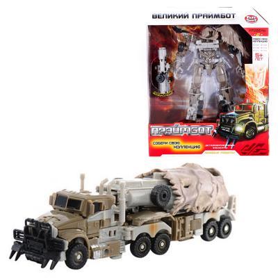 Трансформер Праймбот, робот(17см) - трейлер (военн
