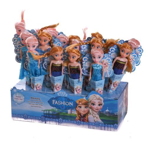 Кукла Frozen микс видов (18 шт/дисплей), 3363