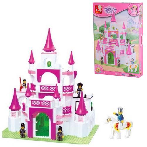 Конструктор SLUBAN M38-B0151 (6шт) замок принцессы, M38-B0151