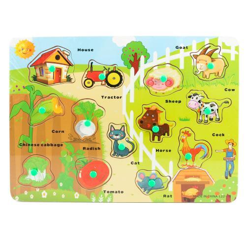 """Деревянная игрушка """" Ферма"""", L22-16"""
