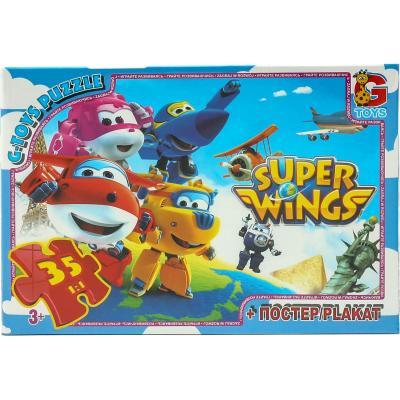 """Пазлы из серии """"Super Wings"""", 35 элементов"""