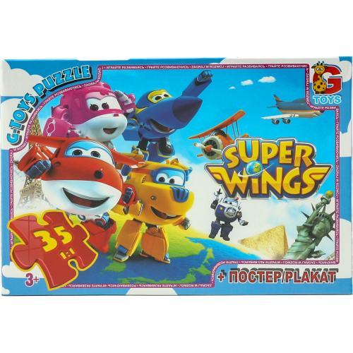 """Пазлы из серии """"Super Wings"""", 35 элементов, GP-UW220"""