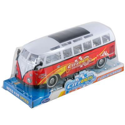 """Автобус """"Хиппи"""" инерц. в слюде"""