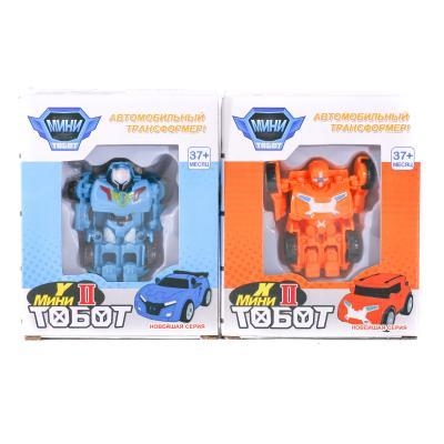 Трансформер 338 (144шт) TBT, 8см, робот+транспорт