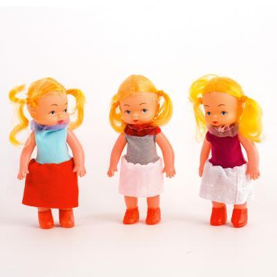 Кукла 3 вида, в кульке., 8542
