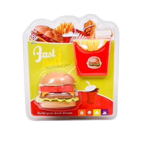"""Набор Фастфуда, """"Бургер и картошка"""", BQ800A-13"""