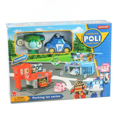 Паркинг POLI с транспортом