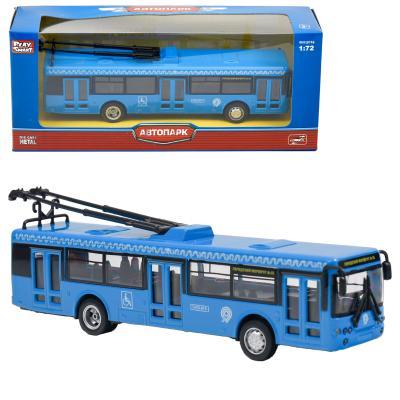 Троллейбус 6407E (96шт) металл, инер-й, 16-4,5-3,5