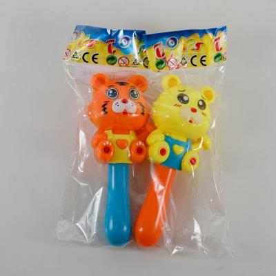 Погремушка 15см, 2шт (мишка,обезьянка), в кульке, 665-666