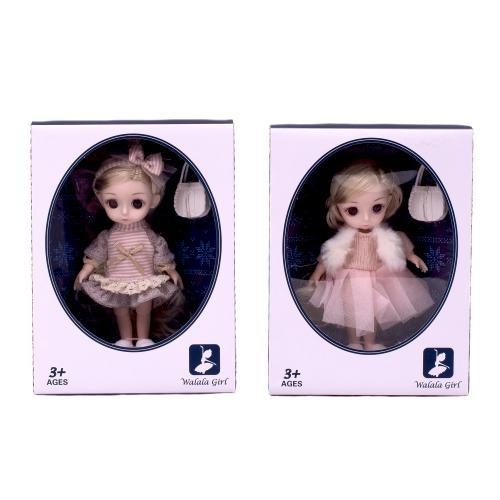 Кукла Walala Girl, шарнирная, 610-A-B-C