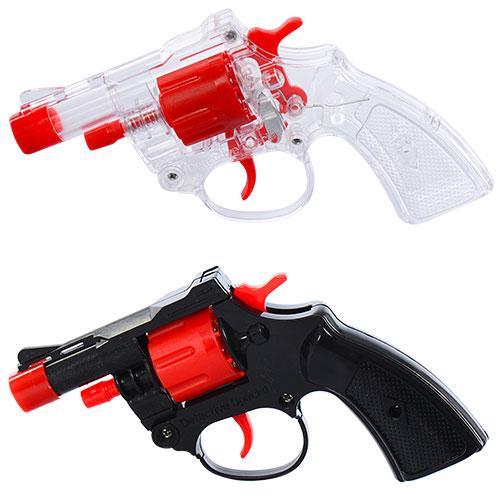 Пистолет на пистонах, 2 вида, в кульке, 13-9-2,5см, 138-1-2
