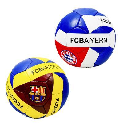 Мяч футбольный размер5, ПУ1,5мм,4слоя, 32панели,400