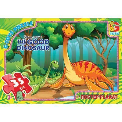 """Пазли из серии """"Хороший динозавр"""", 35 елементов"""