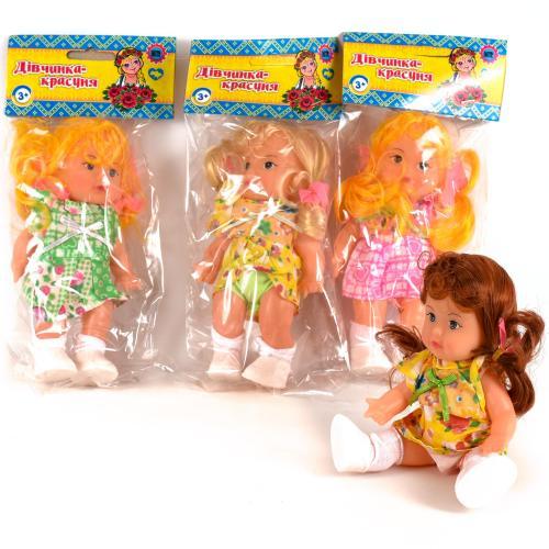 HU Кукла Света, 17см, 3 вида, в кульке, 11,5-24-5с, 728