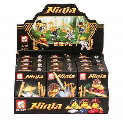 """Конструктор  """" NINJA"""" (коробка 12 шт.) р.25,3*1"""