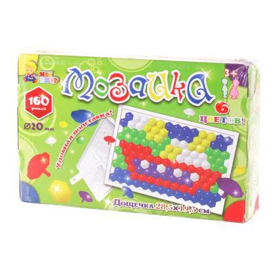 """Мозаика """"Гвоздик"""" (160 дет.),в коробке"""