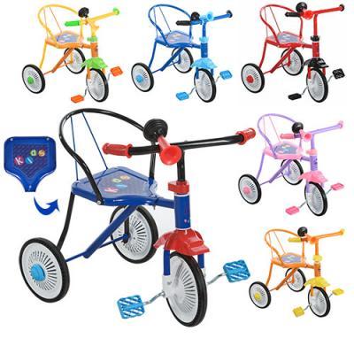 Велосипед 3 колеса,6 цветов:красн,синий,голубой,же
