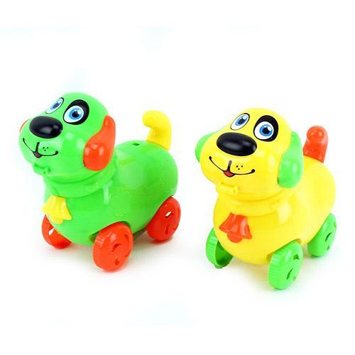 Заводная игрушка 9803-16 (288шт) собачка, звук, 3ц, 9803-16