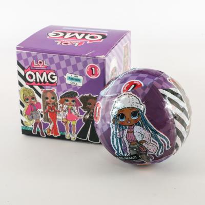 Кукла в шаре, OMG-3