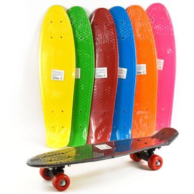 Скейт Пенни маленькие ПВХ колеса, пластиковая подвеска