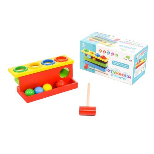 Деревянная игрушка Стучалка MD 0026 (60шт) молоточ, MD 0026