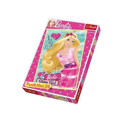 Пазлы Trefl, Barbie, макси 24шт.