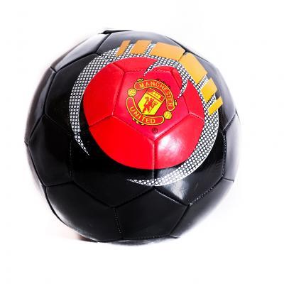 Мяч футбольный размер5, ПВХ, 300-320г, 3вида(клубы