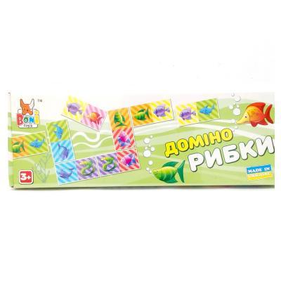 """Настольная игра """" Домино рибки """" 0226"""