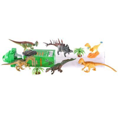 Динозавры 9689-20 (72шт) 6шт, от 8см, яйца, деревь