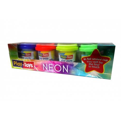Масса для лепки small 4 Neon, P-T 4122 Neon