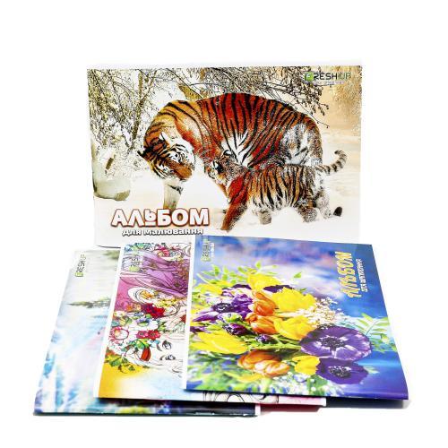 Альбом для рисования, 40 листов (цена за штуку), BR-FR-1340