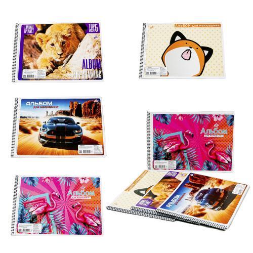 Альбом для рисования, 30 листов (цена за штуку), BR-CAB-2