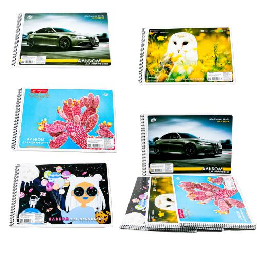 Альбом для рисования, 40 листов (цена за штуку), BR-CAB-3
