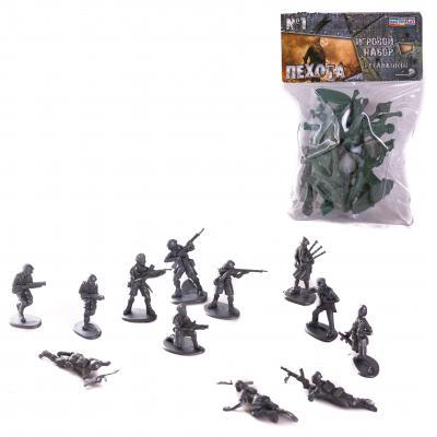 Детский набор солдатиков