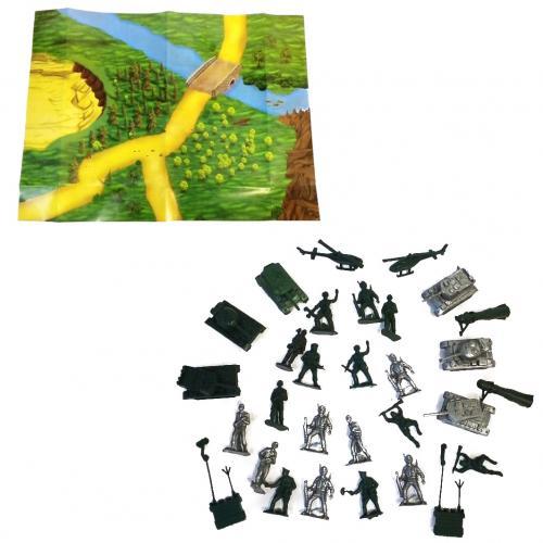 Детский набор солдатиков, CP 1-042