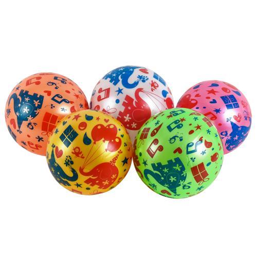 Мяч резиновый 22cm, 60 грамм, YW1887