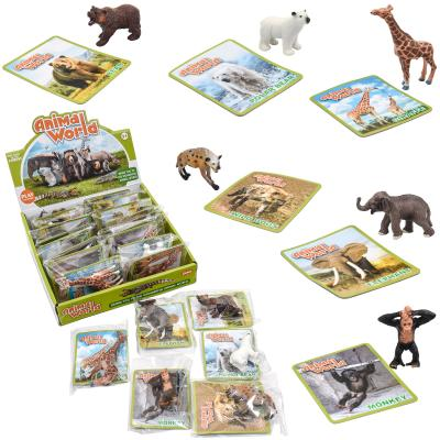Животные TBS008 (288шт) дикие животные, от 7см, в
