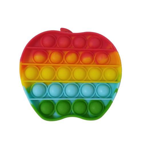 Антистресс Pop it, яблоко (цена за штуку), PP011