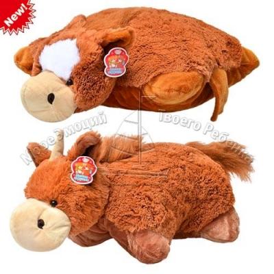 Подушка-лошадка, 2 вида, 46-50см