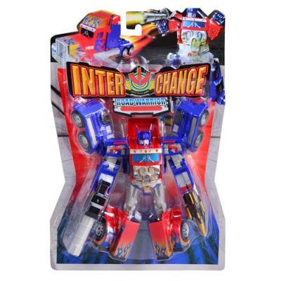 Трансформер 10768 (36шт) 24см, робот+трейлер, на л, 10768