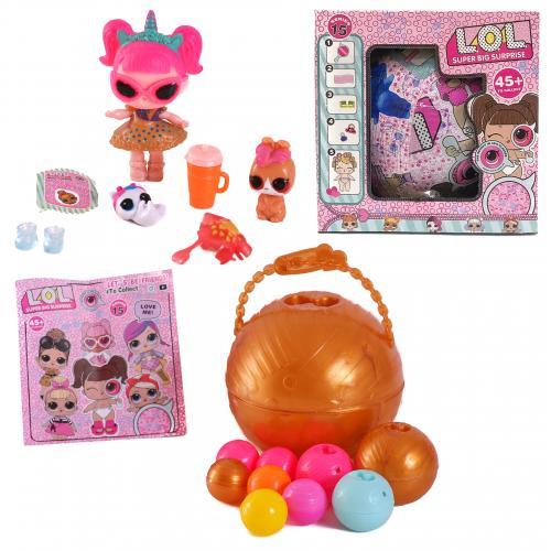 Кукла в шаре + лупа, ZY868406