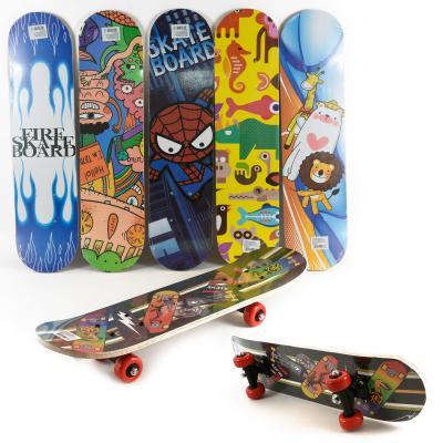 Скейт дерево 7 слоёв, пластиковая подвеска, колесо ПВХ