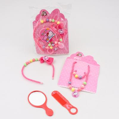 Набор бижутерии для девочки (зеркало, расческа, 4059-11