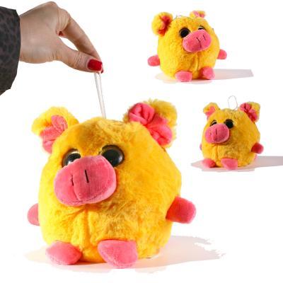 Мягкая игрушка MP 1752 (36шт) свинка, размер средн